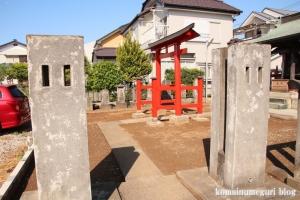 稲荷神社(越谷市千間台西)2