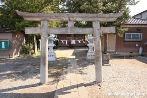 久伊豆神社(越谷市小曽川)3