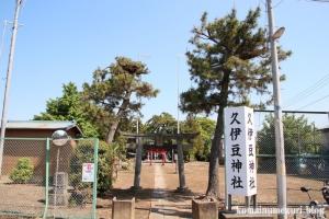 砂原久伊豆神社(越谷市砂原)1