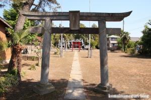 砂原久伊豆神社(越谷市砂原)2