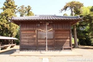 砂原久伊豆神社(越谷市砂原)9
