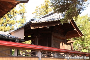砂原久伊豆神社(越谷市砂原)11
