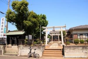 鷺後香取神社(越谷市東大沢)1
