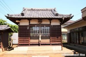 鷺後香取神社(越谷市東大沢)6
