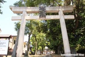 香取神社(越谷市東越谷)2