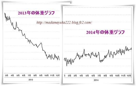 2014年体重総集
