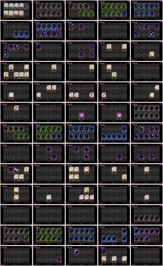 2015/05/31 魔法少女まどか☆マギカオンライン 武器一覧その1