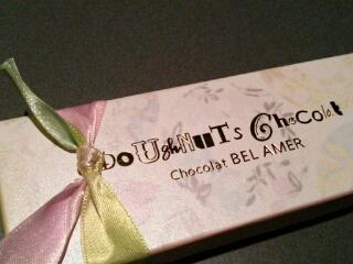 ベルアメールのドーナツチョコ