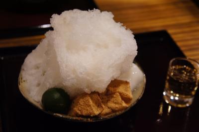 【二軒茶屋】青梅カキ氷