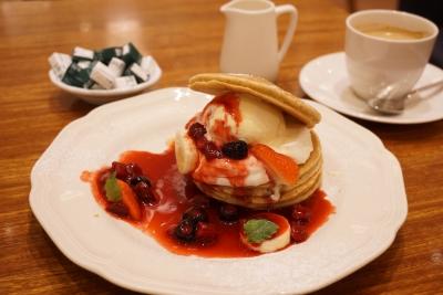 【Afternoon Tea】ベリーベリーパンケーキ