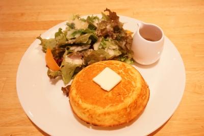 【ヘルシンキベーカリー】ブラウンシュガーシロップのパンケーキ【モーニング】