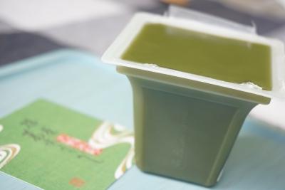 【清閑院】葛水ようかん抹茶