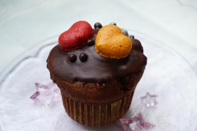 【PATISSIER eS KOYAMA】ザッハのようなチョコレートマフィン