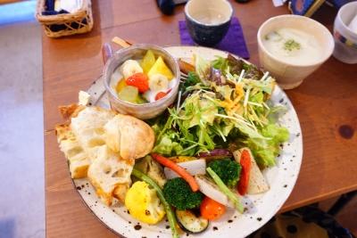 【cafe kumaco】ベジ・フルプレート