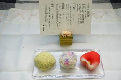 【たねや】上生菓子 早春譜