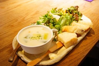 【cafe kumaco】スーププレート