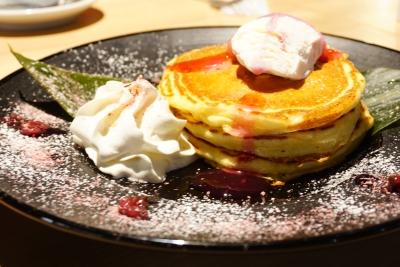 【URGE】桜餅仕立てのもちもちパンケーキ