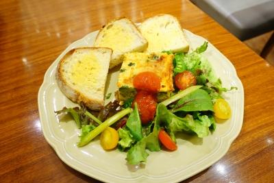 【Afternoon Tea】ベジタブルオムレツのガーデンサラダプレート