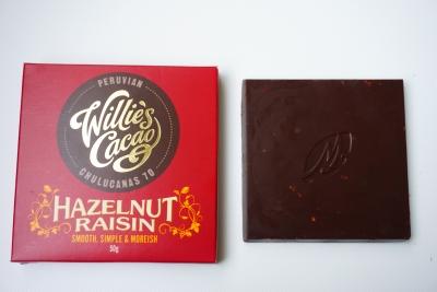 【Willie's Cacao】ヘーゼルナッツ・レーズン