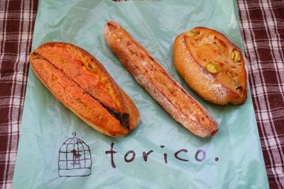 【torico】5月のパン屋めぐり