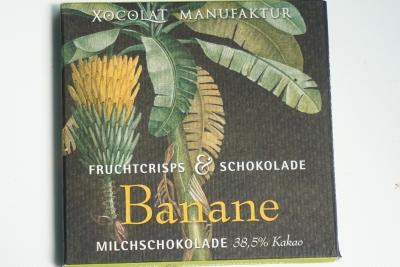 【ショコラマニュファクチュール】クリスピーフルーツ バナナミルク