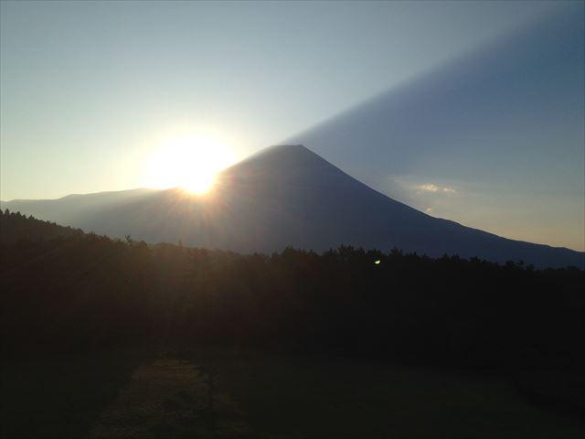富士山(日の出)