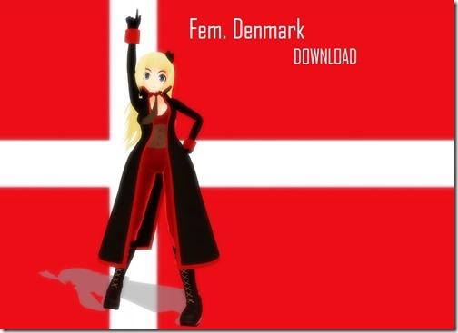 13【世界の射精から;デンマーク(Denmark)編】童話の国のエロ美女達