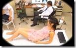 【夫婦生活妻の秘めごとエロ動画】婦人科の検診だからとバイブもチンポの挿入も許してしまう人妻02