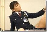 【制服フェチのエロ動画】ドS刑事ならぬドS看守『限界か!?真面目に射精しろ!!』03