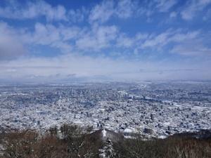 晴天の札幌