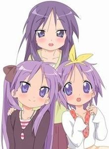 上:母みき、左:姉かがみ
