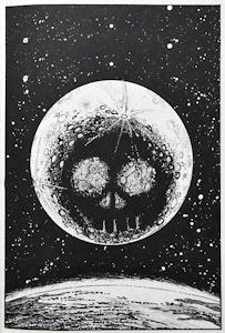 ドクロの月