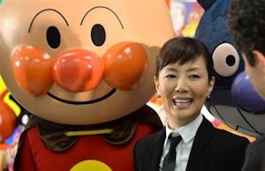 アンパンマンと戸田恵子