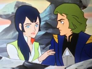 恋仲になるカララとベス