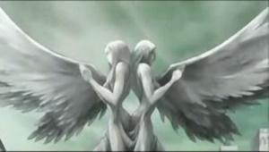 テレサとクレアの女神像