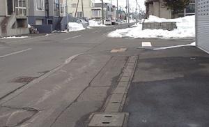 札幌雪解け