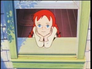 窓辺のアン