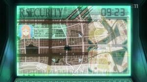 アールセキュリティー社の位置予測