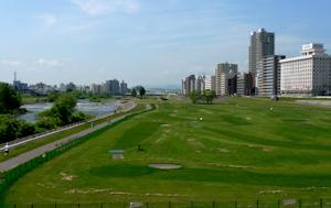 豊平川緑地