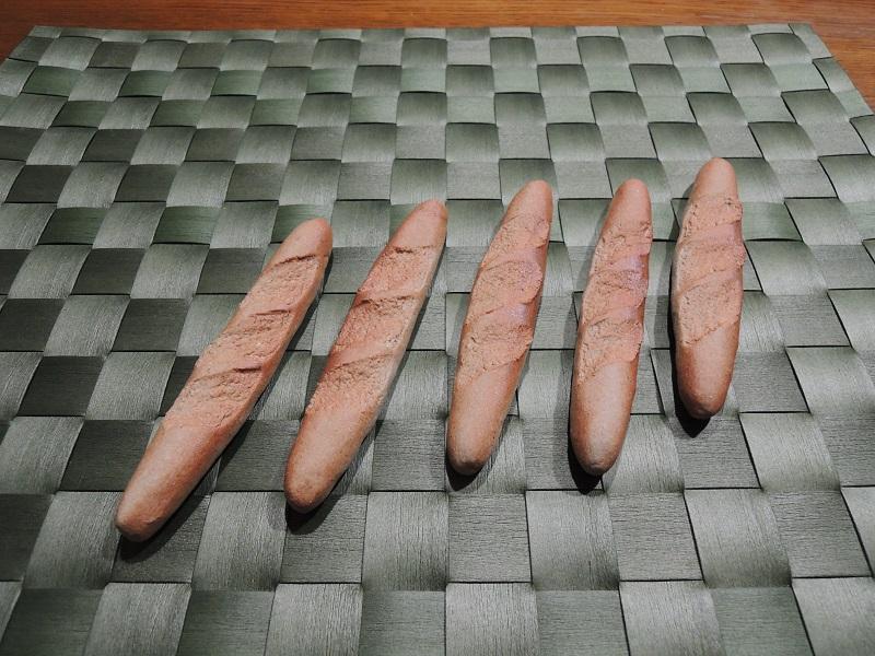 フランスパンのお箸置き