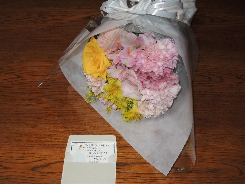 結婚記念 花束1
