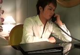 ゲイ動画:大阪出張、仕事が煮詰まった夜はデリバリー !!