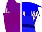 パープル&ブルー