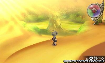 レジェンドオブレガシー 「砂漠のダンジョン」に行く事ができる蜃気楼の画像