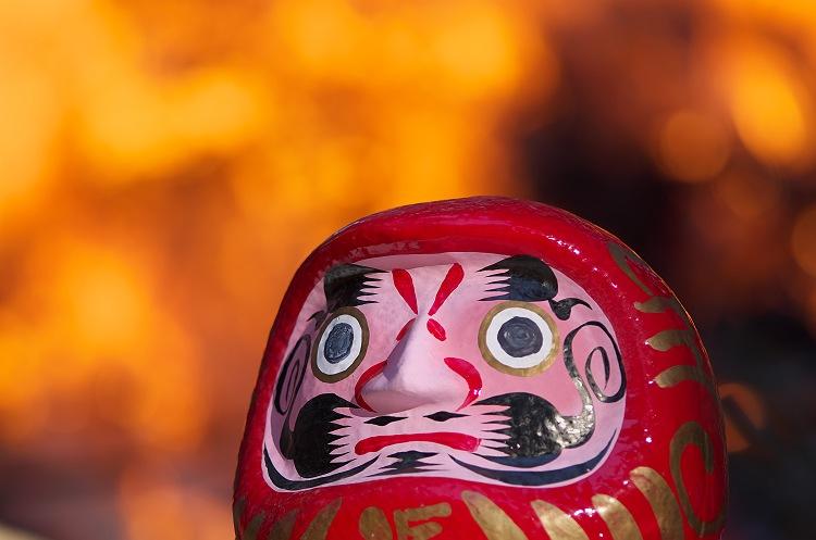 小國神社のどんど焼き 二