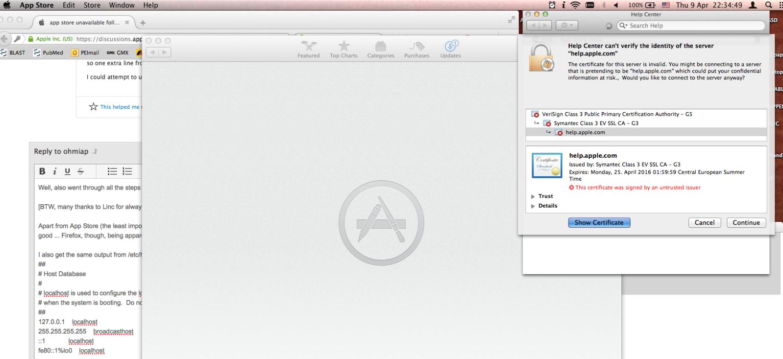 【回避策あり】OS Xのセキュリティアップデートに不具合 一部のMacでhttpsでのアクセスに影響