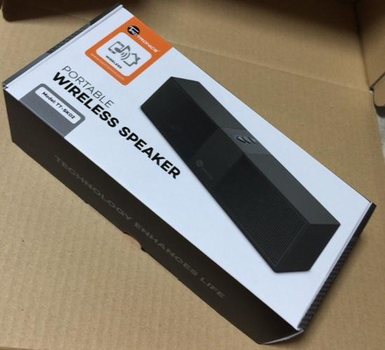 「TaoTronics」恐るべし! Bluetoothスピーカー「TT-SK02」もヘッドフォン同様素晴らしかった