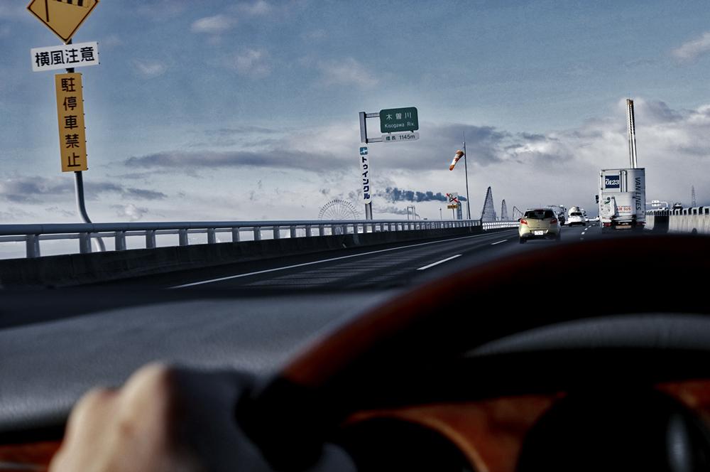 ジャガーで静岡〜京都往復ドライブ