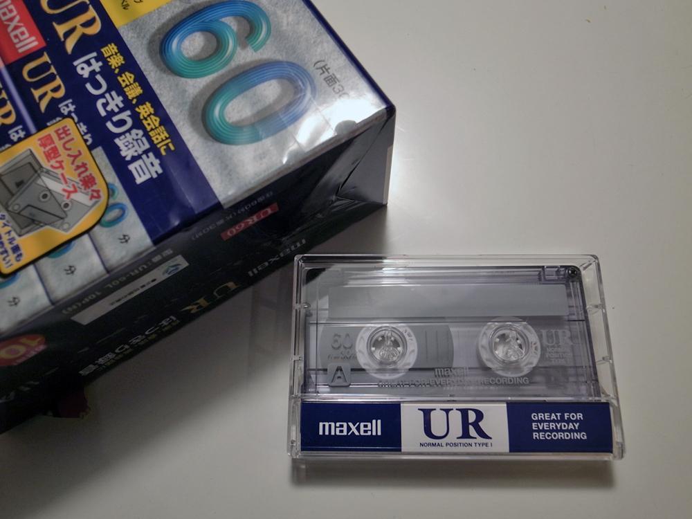 今ふたたびカセットテープを使ってみる。