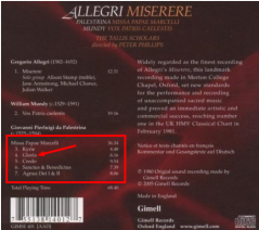 Palestrina Missa Papae Marcelli